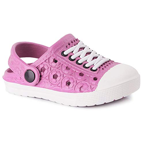 Zuecos para Unisex Infantil Niños Niñas Respirable Sandalia Zapatos Chanclas de Playa de Verano