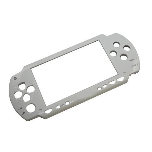 Frontal Superior placa frontal cubierta de la caja Shell para PSP 1000, PSP, 1001de repuesto–blanco