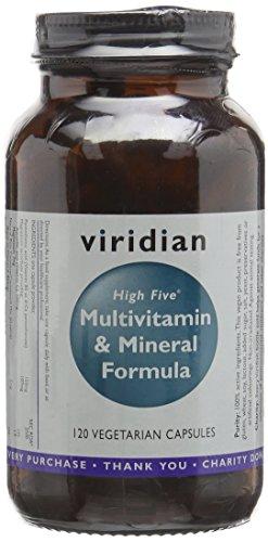 Viridian High Five Multivitamin & Mineral Formula 120 Veg Caps