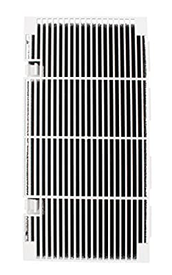 RV A/C Ducted Air Grille Duo-Therm Air Conditioner Grille Replace for The Dometic 3104928.019 with Air Filter pad Assembly - Polar White
