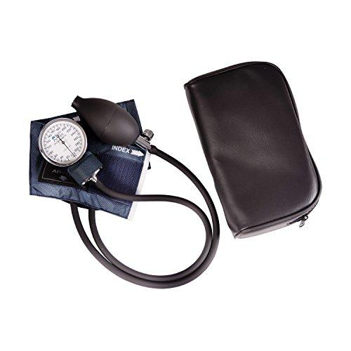 MABIS DMI Healthcare Pediatric Blood Pressure Cuff and Monitor and Sphygmomanometer Cuff Size 5.5 to 7.8 inches Infant, Blue, 1 Count