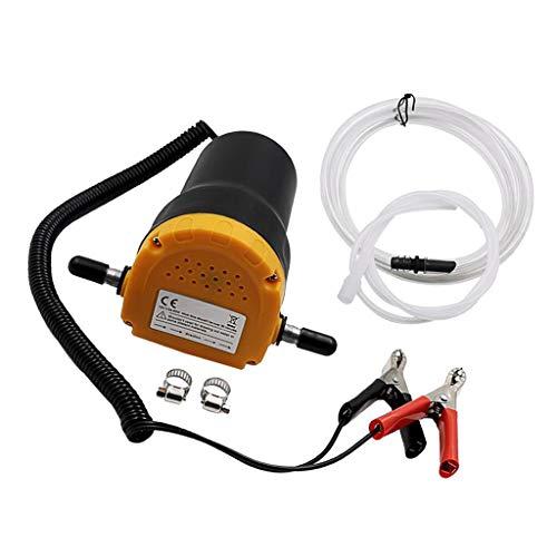 Fenteer Set Extracteurs de fluides Diesel électrique Voiture Moto 12v Pince de Batterie