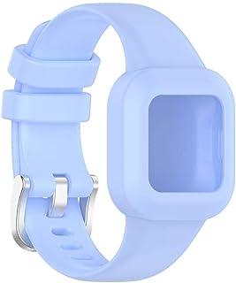 Akemaio Bracelet de Montre pour Enfants Bracelet de Montre Compatible pour Garmin Fit JR3 Bracelet de Remplacement de Brac...