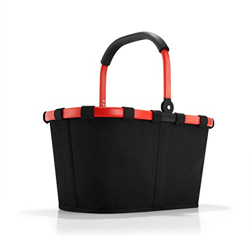 reisenthel carrybag frame red/black  Maße  48 x 29 x 28 cm/Volumen: 22 l