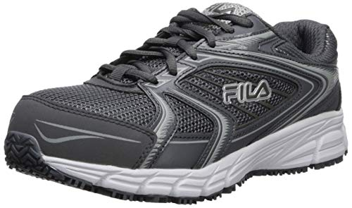 Fila Women's Memory Reckoning 9 Slip Resistant Work Shoe Food...