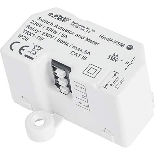 Homematic IP ELV ARR-Bausatz Unterputz-Schalt-Mess-Aktor 5 A HmIP-FSM