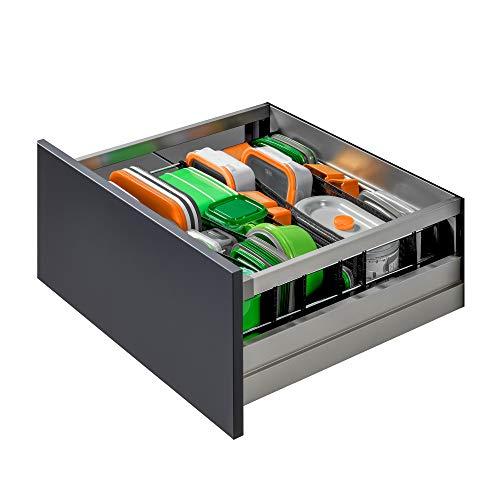 SpaceFlexx® – der innovativste Schubladen Organizer Aller Zeiten I Das Flexible & breitenverstellbare Ordnungssystem für Schubladen I Made in Germany