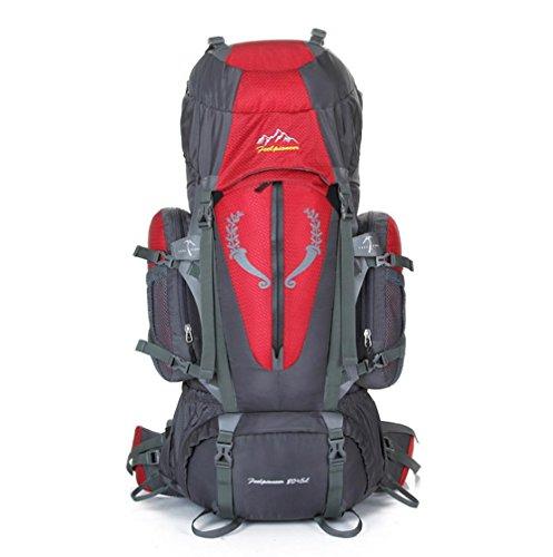 SZH&BEIB Sac à dos randonnée très grande capacité 85L pour le sac d'alpinisme Voyage en plein air en nylon imperméable , C