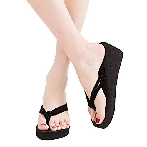 Chanclas para Mujer Punta Descubierta Zapatillas Playa Verano Casa Zapatos Zapatillas de Playa Casuales con Doble Correa