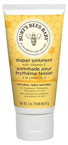 Burt's Bees Baby 100% Natural Diaper Ointment, Baby Nappy Cream, 85,...