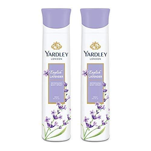 Yardley Londres - english lavande body spray rafraîchissant pour femme - 150 ml