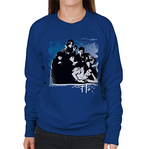 The Breakfast Club Characters Together Brush Stroke Women's Sweatshirt