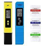 VINKK Medidor pH, Digital Medidor de TDS EC Temperatura pH 4 en 1, Calibración Automática, Ideal para Agua Potable Piscina Acuario Piscinas