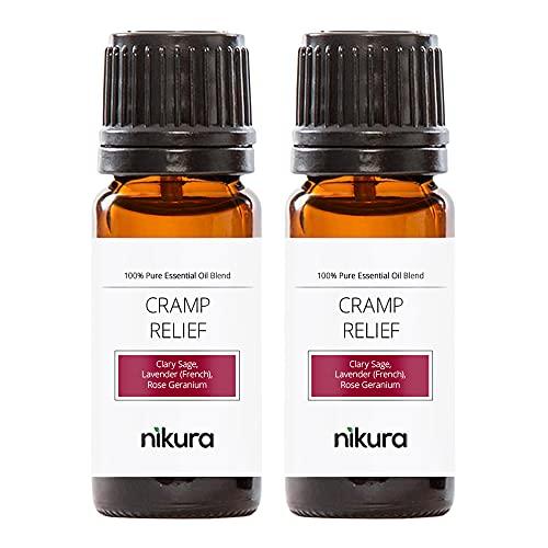 Nikura - Cramp Relief Essential Oil Blend - 20ml (2 x 10ml)