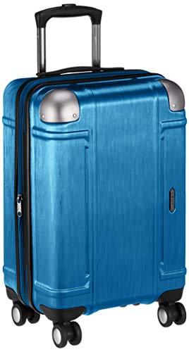 [ゼット・エヌ・ワイ] スーツケース ミネオラ 拡張可能 機内持込 双輪キャスター TSAロック 機内持ち込み可 41L 48 cm 3.3kg ブルー