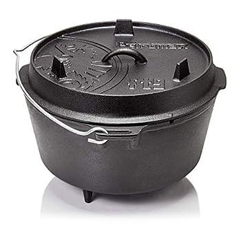 Petromax ft9 Cocotte en Fonte(Dutch Oven) (Fond Plat)