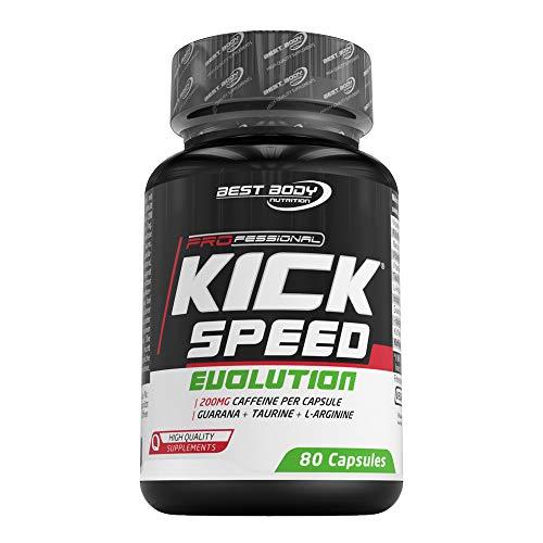 Best Body Nutrition Professional Kick Speed Evolution Caps, 80 Stück/Dose, 85,2 g