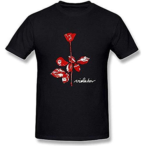 ONT Men's Depeche Mode Violator T Shirt M Black 3XL