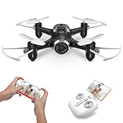 Mini Drone with Camera Live Video FPV Nano Pocket Drone for Kids and Beginners RC Quadcopter