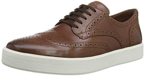 Clarks Hero Limit, Derbys Homme, Marron (British Tan Lea British Tan Lea), 44.5 EU