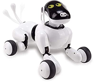 N/P Controlled Robot AI Dog Bluetooth Connection Touch Motion Smart Electronic