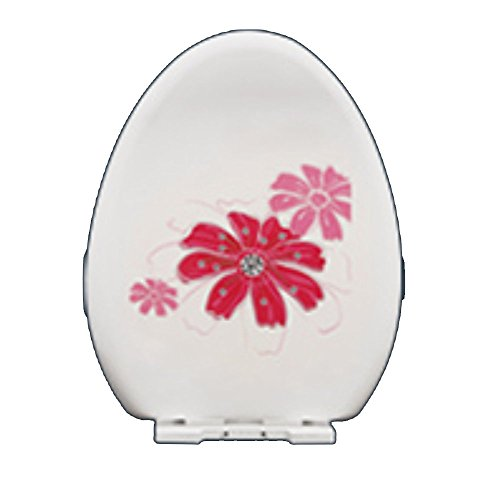 NAN Universal-Toilettendeckel Verdicken Daunenkissen WC-Sitz WC-Abdeckung UV-Typ Einfach zu Waschen und Waschen Verhindern Kratzer Keine Verfärbung Kein Schimmel ( Farbe : 2 )