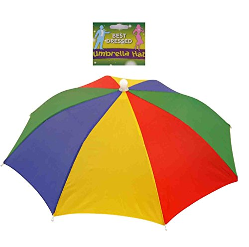 Toyland Multi Colour 1 Größe Umbrella Hat - Festivals - Angeln - Abendkleid