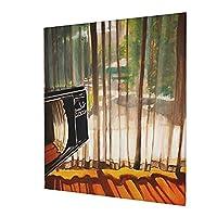 アートパネル モーテル アートフレーム インテリア アートポスター 壁掛け絵画 インテリア 絵画 モダン キャンバス絵画 装飾画 部屋飾り 現代 木枠セット 50*60cm