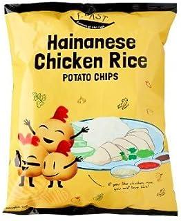 F.EAST Hainanese Chicken Rice Potato Chips, 70g