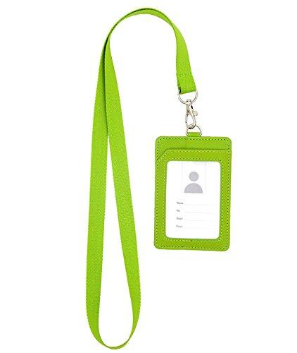 vertikale Stil Business ID Abzeichen Kartenhalter Namensschilder mit Lanyard