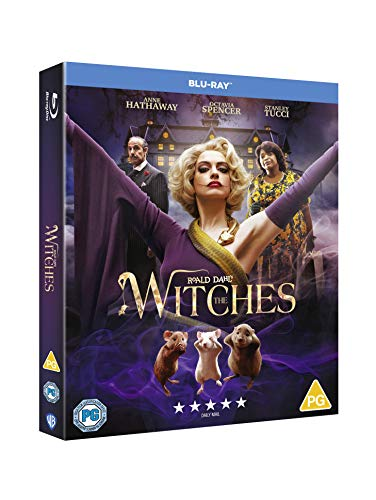 Roald Dahl's The Witches [Blu-ray] [2020] [Region Free]
