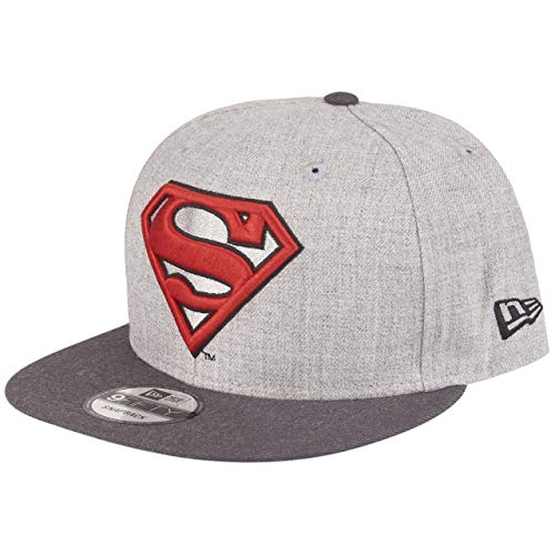 New Era 9Fifty Snapback DC Comics Cap - Heather Superman