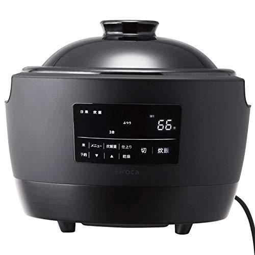 9位(アンケート順位なし) 長谷園×siroca 『全自動炊飯土鍋 かまどさん電気(SR-E111)』