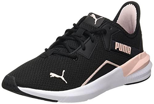 PUMA Damen Platinum Shimmer WN's Gymnastikschuh, Schwarz, 40 EU