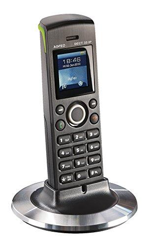 Agfeo 6101276 Systemtelefon schnurlos DECT 33 IP schwarz
