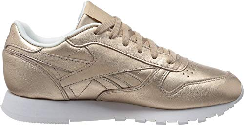 Reebok Damen Classic Leather Fitnessschuhe, Mehrfarbig (Ms/Rose Gold/Bare Be 0), 37 EU
