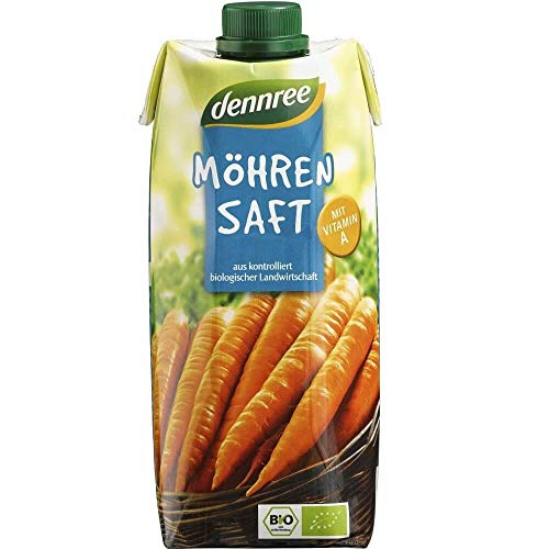Carrot Juice BIO 500 ml - DENNREE