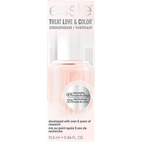 essie Treat Love & Color Nail Polish For Normal to Dry/Brittle Nails, Treat Me Bright, 0.46 fl. oz.