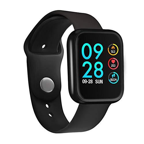 Relógio Smartwatch P70 com 2 Pulseiras (Aço/Silicone) Pretas