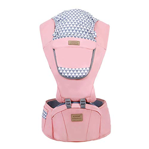 TUTOU Baby Carrier Cover, Ergonomic 360° Best Baby Soft Carrier Comfortable Adjustable Positions Breastfeeding Fits All Newborn Toddler All Seasons,Pink
