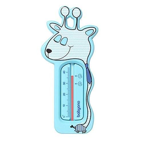 BabyOno - Termometro galleggiante da bagno, menta, motivo: giraffa