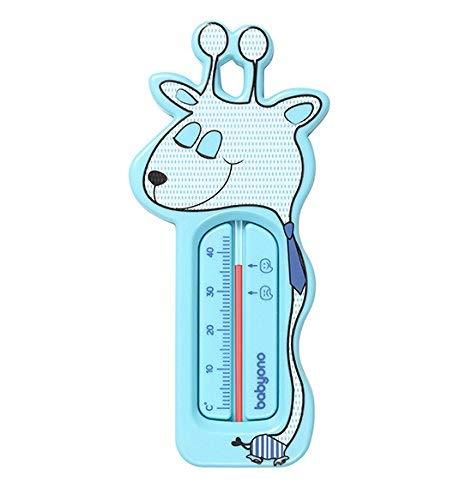 BabyOno Schwimmendes Badethermometer, Mint, niedliche Giraffe