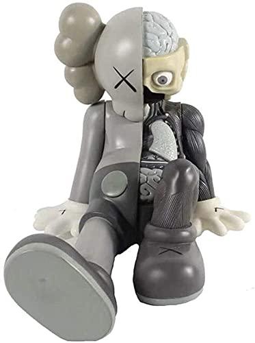 WaWeiY KAWS Art Touchs Sillarse Sentado Diseecto Compañero Modelo de acción Figura Figurine/Decoración del hogar Dormitorio Ilustraciones Collectiable Modelo de Juguete 8'Decoraciones de Oficina