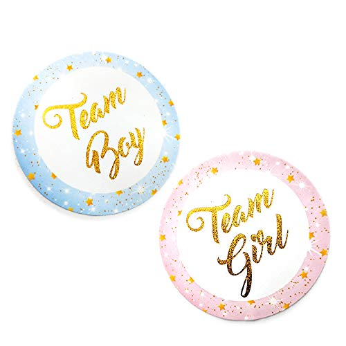 Gold Glitter Cupcake Toppers by HallGEMs