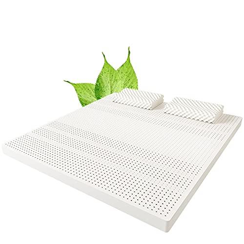 Colchón de látex para cama individual especial de látex orgánico para el hogar, muebles de masaje, colchón moderno de 10 piezas, blanco, 180 x 200 x 10