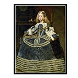 Swarouskll La Infanta Margarit de Diego cartel de arte de pared lienzo pintura decoración del...