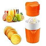 keng Easy Juice Hand Entsafter - Hand Entsafter Zitronenpresse Orangenpresse Funny Juicers Kitchen...