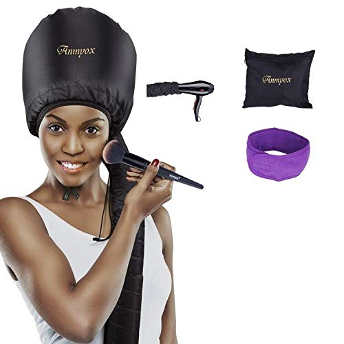 Bonnet Hood Hair Dryer Attachment, Anmyox Hooded Hair Dryer Home Hair...