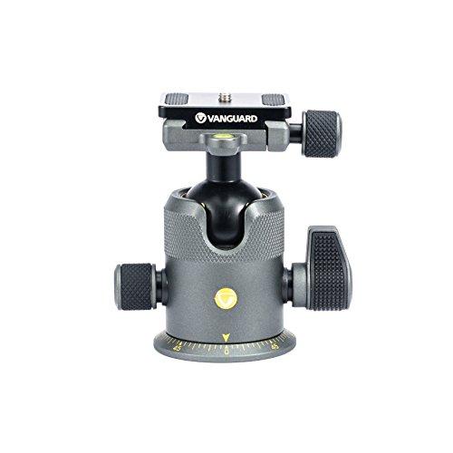 Vanguard ALTA BH-300 - Kamera-Montagezubehör (Schwarz, Grau, Aluminium, 360°, 30 kg, 119 mm, 600 g)