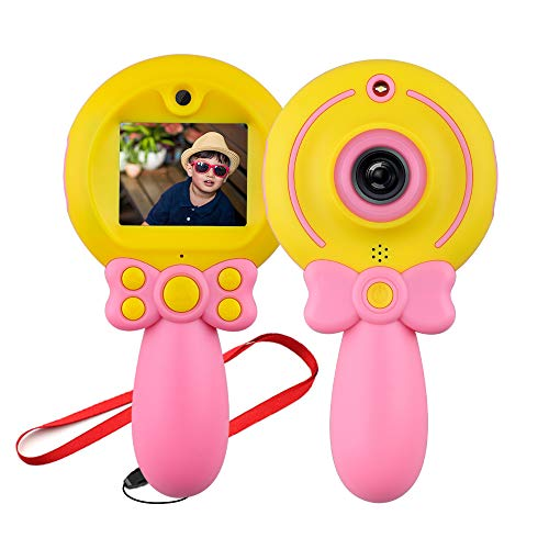 Toy for 4-12 Year Old Girl Kids, Digital Camera Gifts for 5-13 Year Old Boy Child Electronics Toy Age 6-10 Girls Boys Birthday Present Toddlers Toys Age 5 7 9 Boys Children Teen Gift Pink Camera
